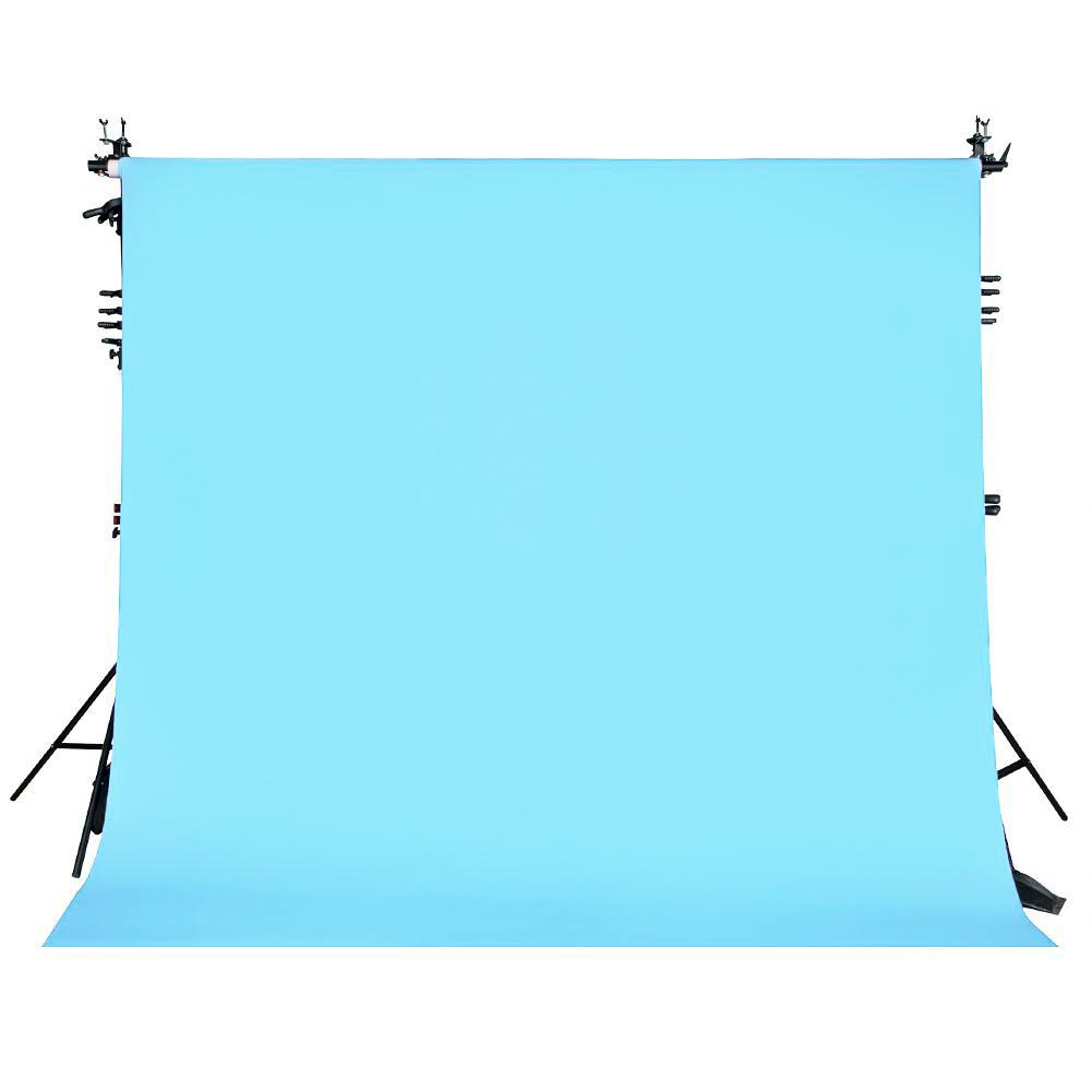 Paper Roll Photography Studio Backdrop Full Length (2.7 x 10M) - Sky's the Limit Blue
