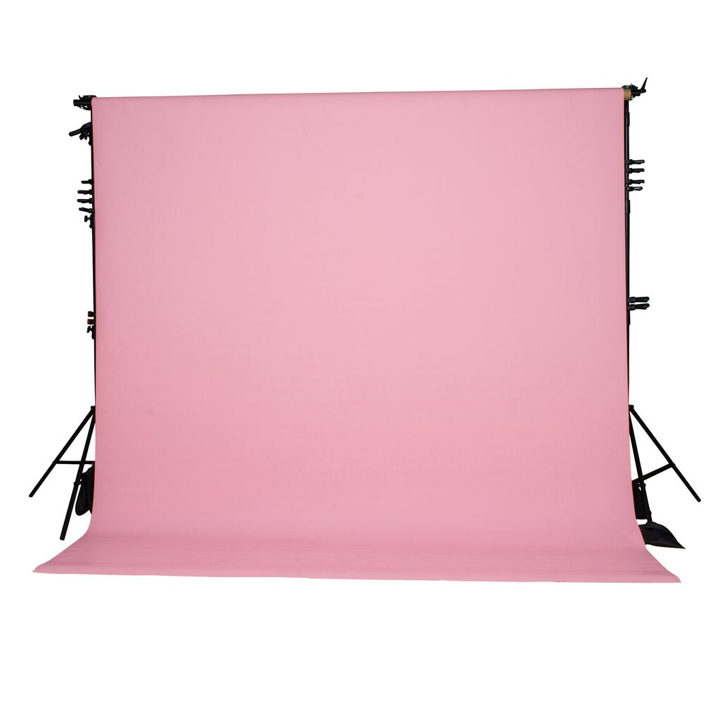 spectrum non reflective paper roll backdrop 2 7 x 10m baby pink
