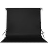Paper Roll Photography Studio Backdrop Full Length (2.7 x 10M) - Badabing Black