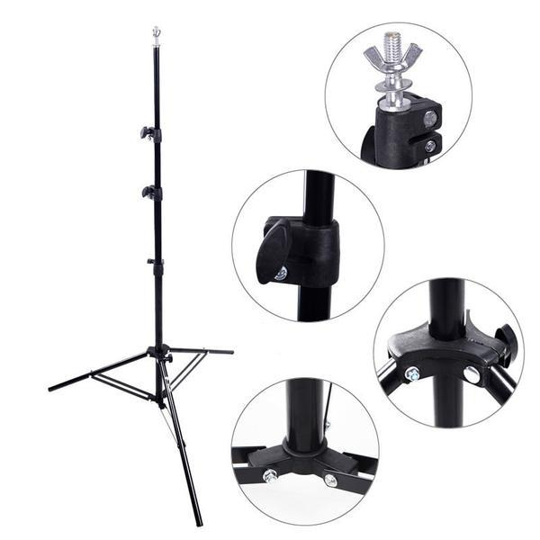 Spectrum Backdrop Stand (3.1M x 3.0M) - Heavy Duty 8kg Load 4 Segment Crossbar
