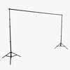 Spectrum Backdrop Stand (2.8M x 3.0M) - Heavy Duty 8kg Load 4 Segment Crossbar