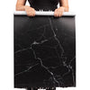 Flat Lay Instagram Backdrop - 'Paddington' Black Marble (56cm x 87cm)