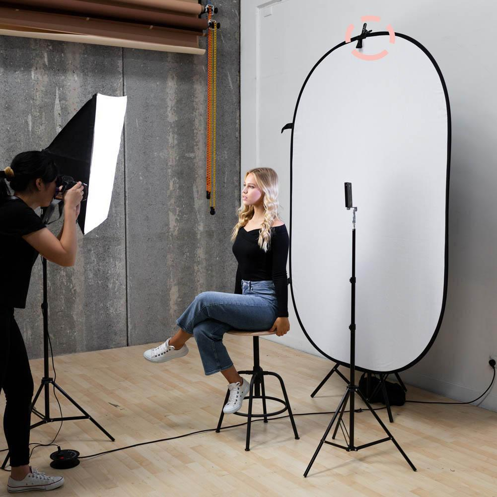 Collapsible Backdrop Pop Up Peg Clip Only