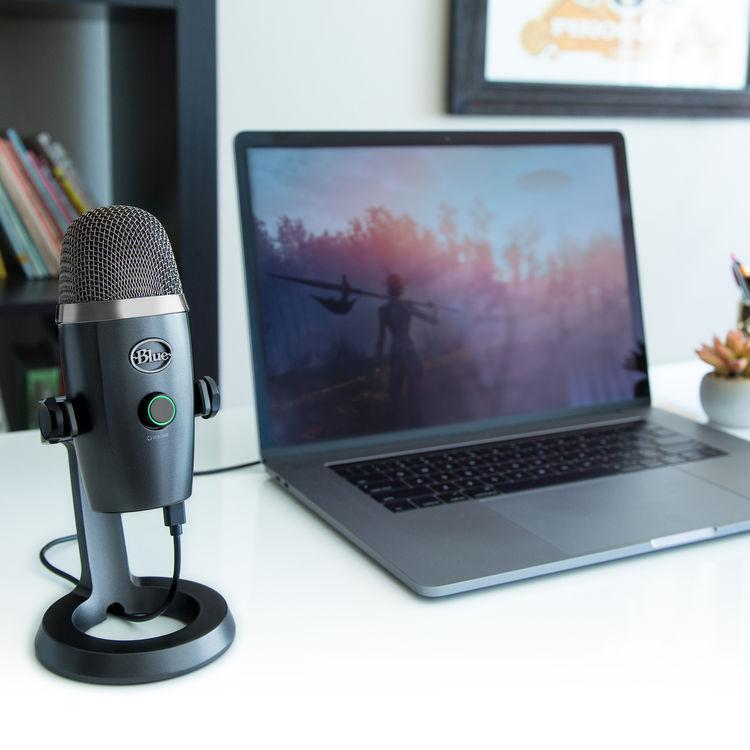 Blue Yeti Nano USB Microphone - Shadow Grey