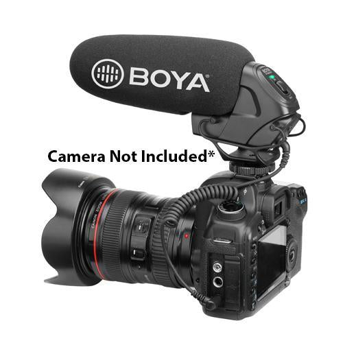 Boya BY-BM3030 On-Camera Shotgun Youtube Microphone