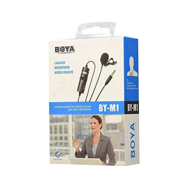 Boya BY-M1 Omnidirectional Lavalier Microphone