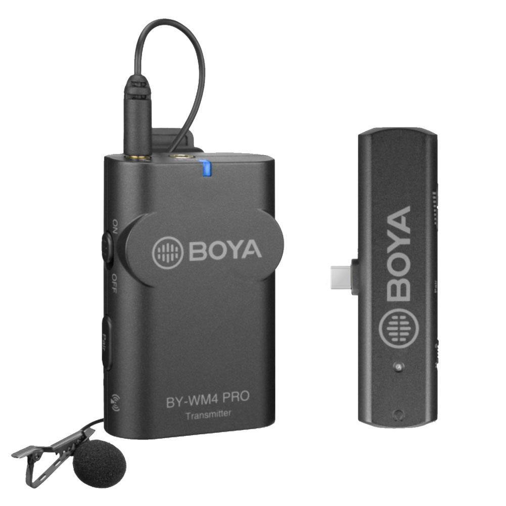 Boya BY-WM4 Pro-K5 Wireless Microphone System for Android and Type-C