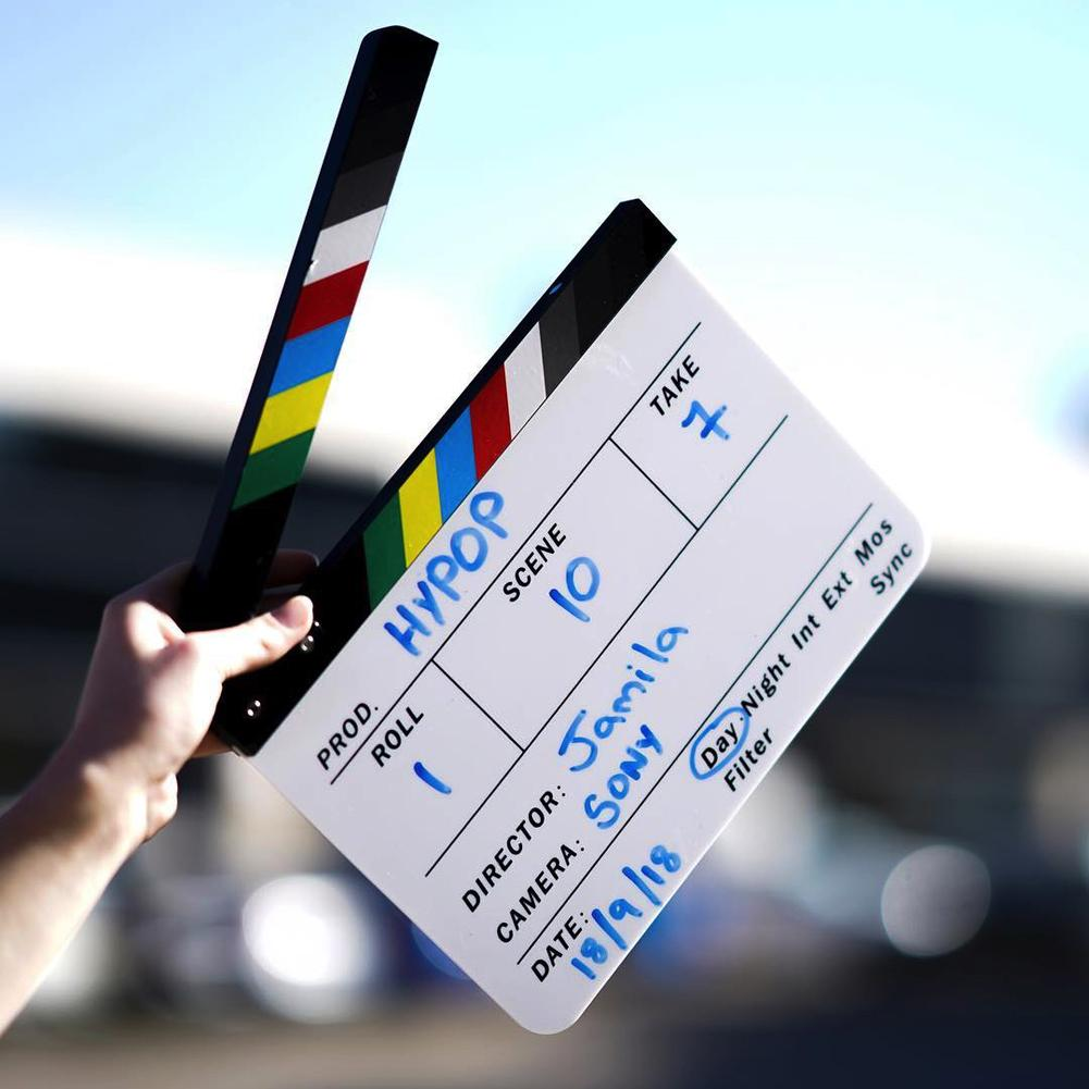 Director's Filming Production Clap Board