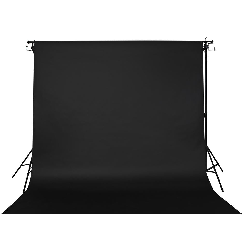 Spectrum Non-Reflective Paper Roll Backdrop (2.7 x 10M) - Crushed Charcoal Black