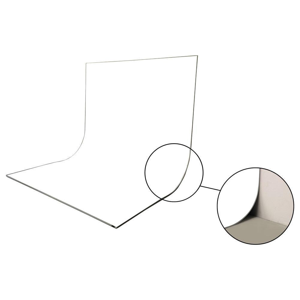 Easiframe® Curved Cyclorama Backdrop Stand Frame and Background Set