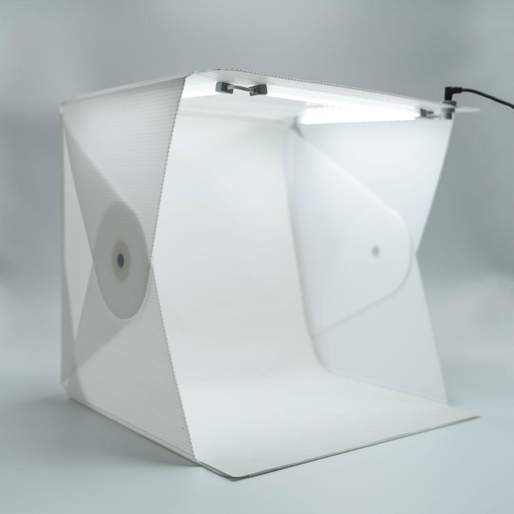 "Foldio2 Plus 15"" Product Photography Studio Tent Box (Includes Triple LED Light Strips)"