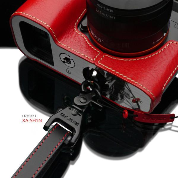 Gariz Red Genuine Leather Adjust Strap XS-CHLSNRB2