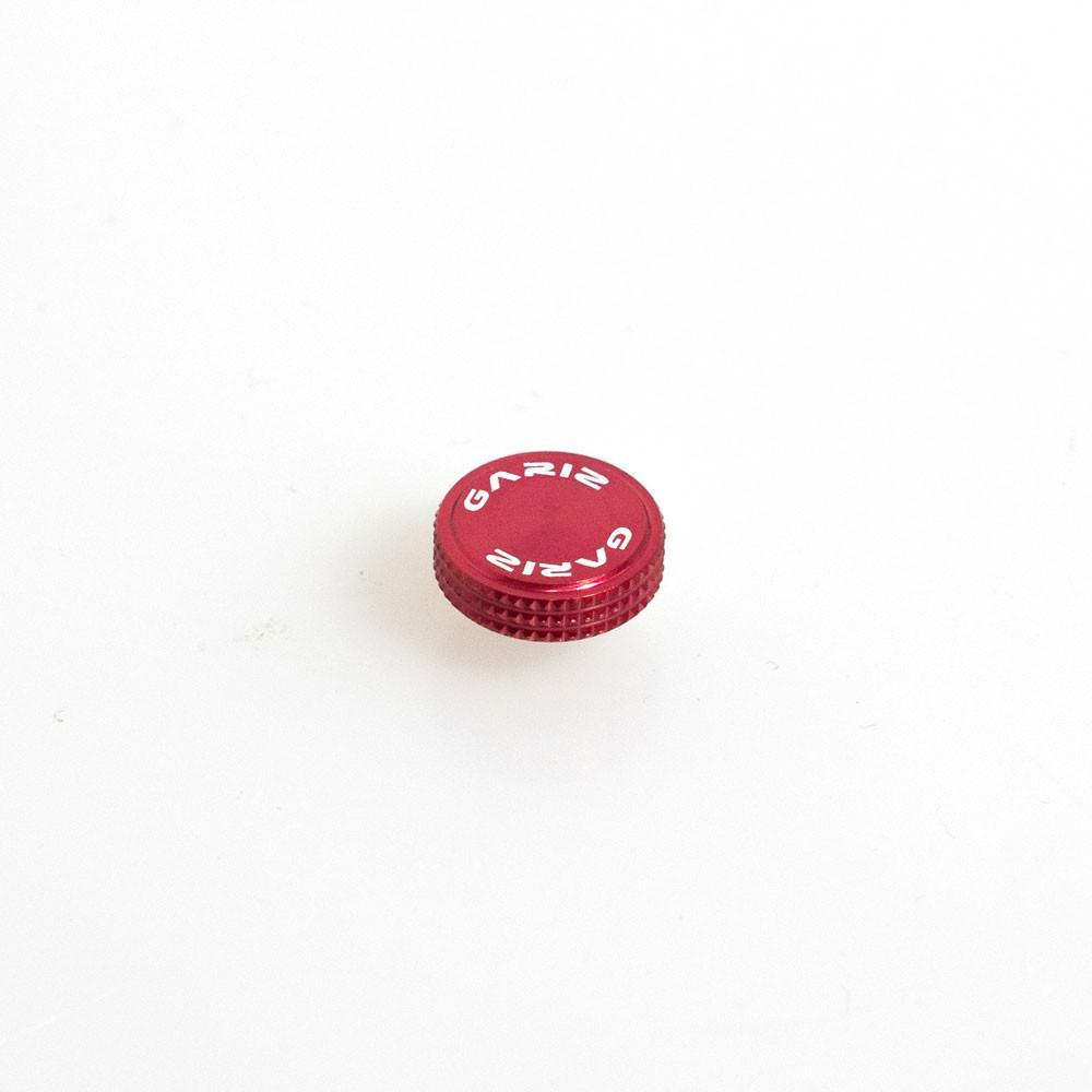 Gariz Screw type Soft Button Red XA-SBA3S for Sony RX1 (Black Thread)
