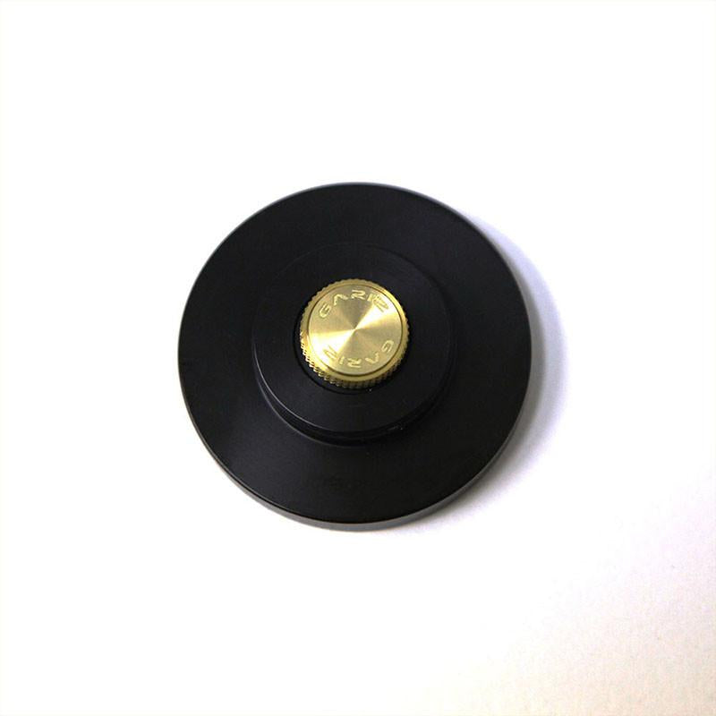 Gariz Screw type Soft Button Gold XA-SB3S for Sony RX1 (Black Thread)