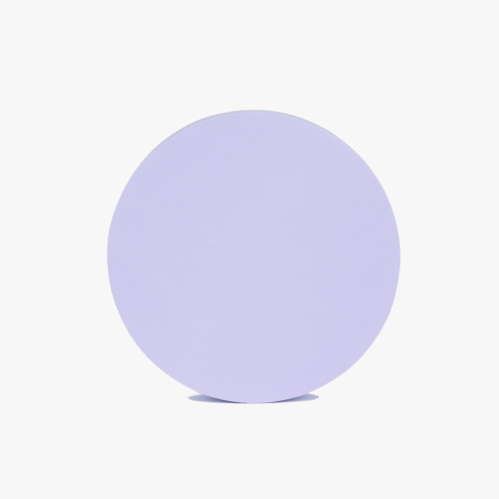 Geometric Foam Styling Props for Photography - Large Circle 18cm (Periwinkle Purple)