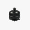"Hot Shoe to 1/4""-20 Male Post Adapter"