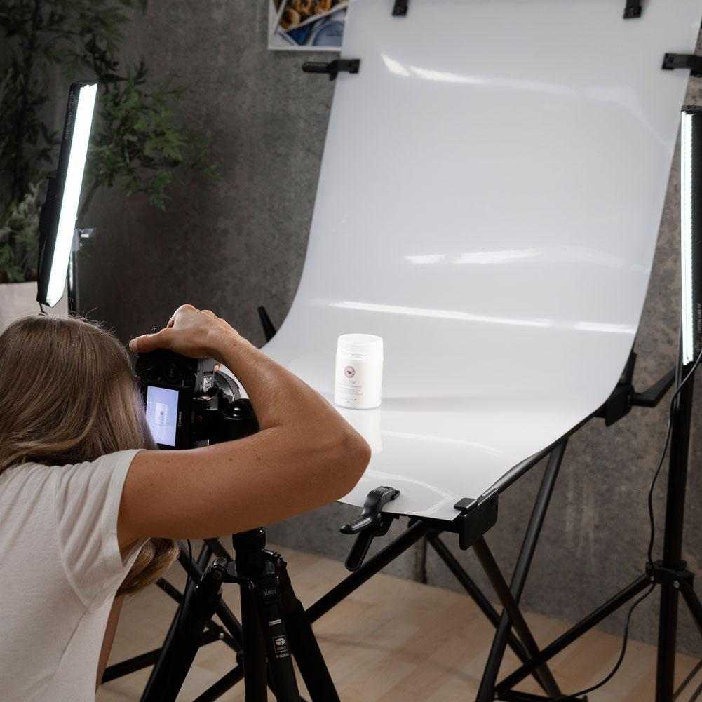 'Brand Builder' 60cm Product Photography Table & LED Lighting Kit