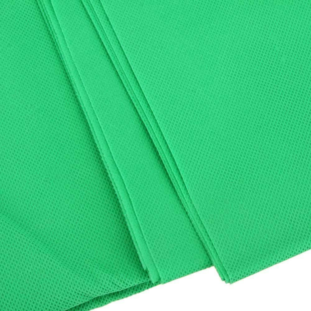 Hypop Chroma Key Green Screen 3M x 6M Non-Woven Background