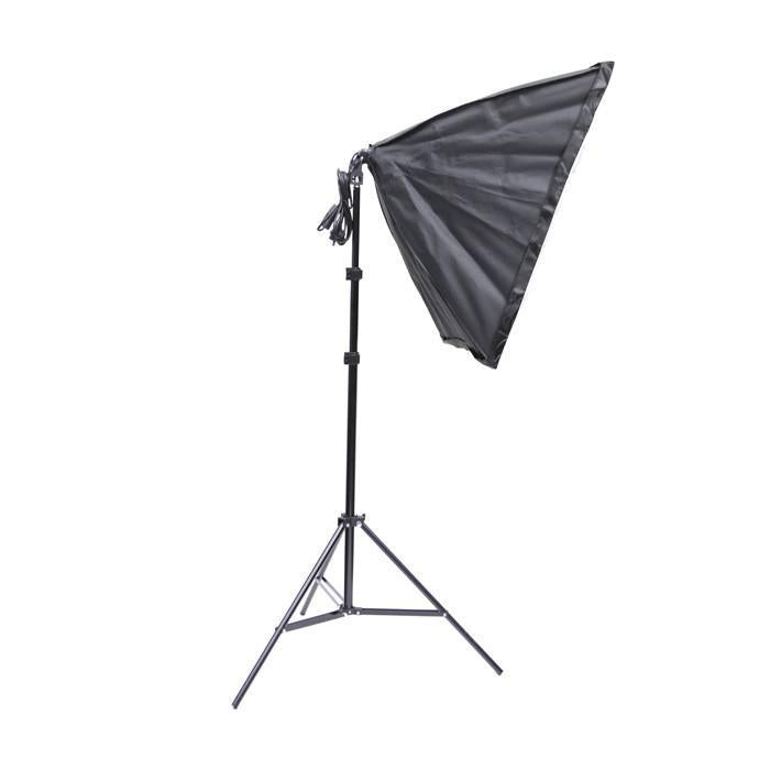 "Triple ""Illuminate Mate"" Rectangle Softbox and Boom Arm Lighting Kit"