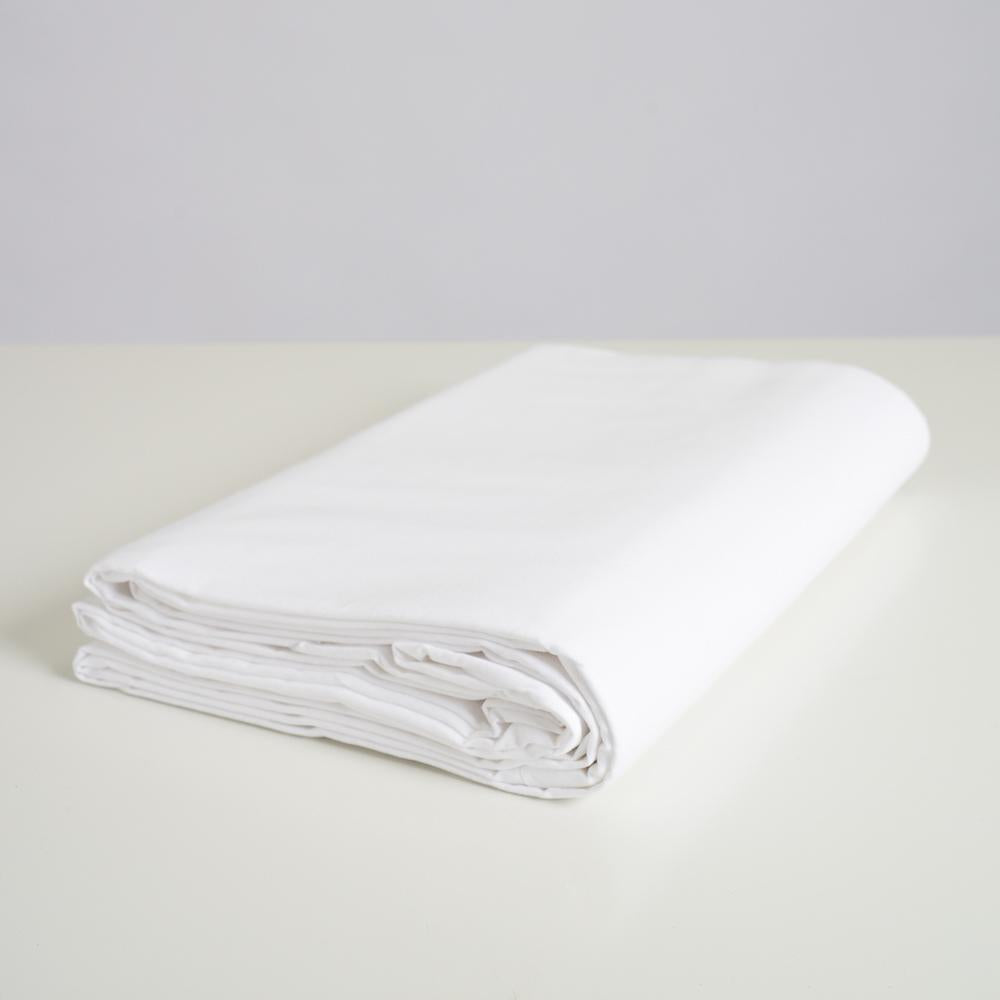 Spectrum Solid White 3M x 3M Cotton Muslin Background