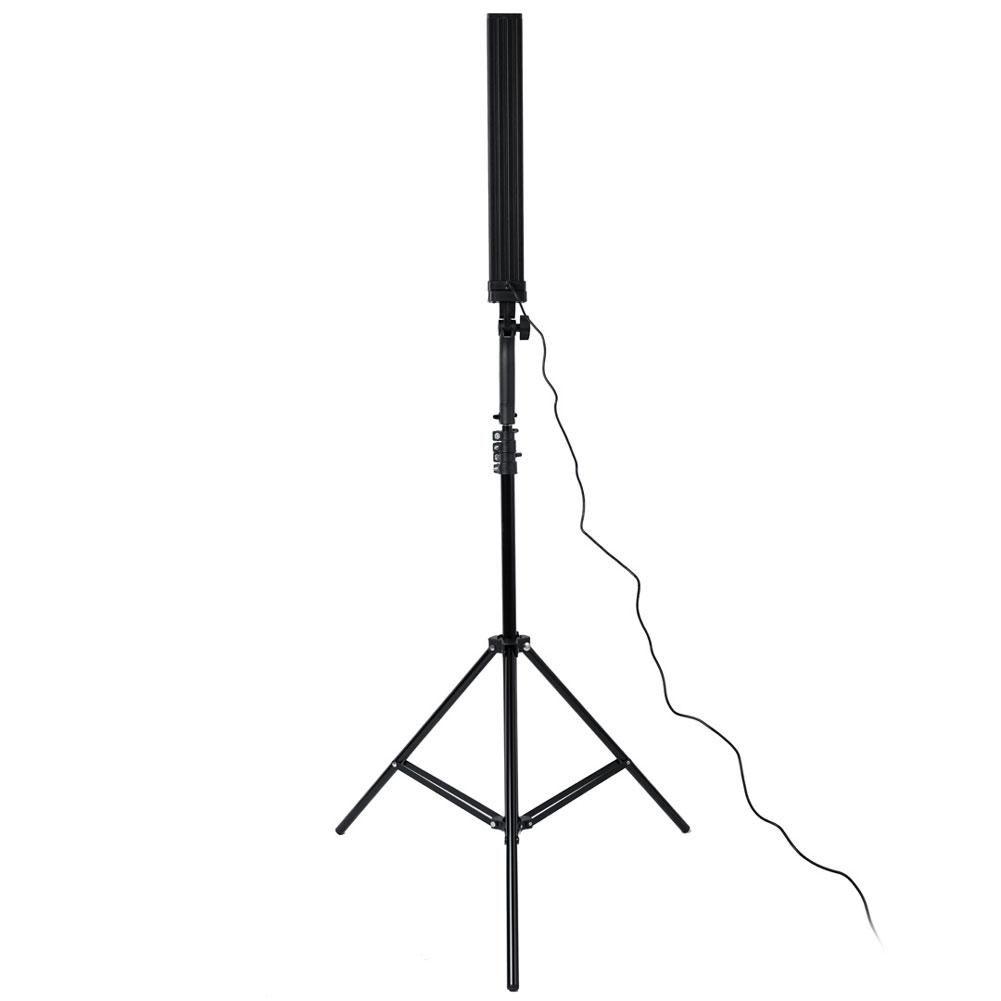 "'Illuminate Wand' 21"" Bi-Colour 3200-5500K Vlogger & Photography Home Studio LED Light Kit"