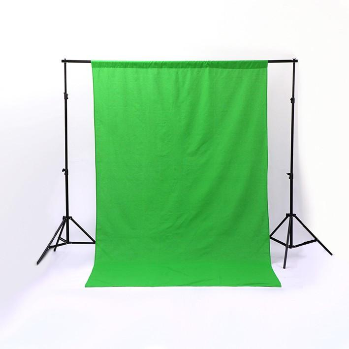 Spectrum Backdrop Stand and Triple Colour Muslin Cotton Backdrop Kit
