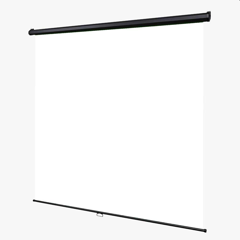 'Instant Studio' Mountable Pull Down Backdrop Screen - White