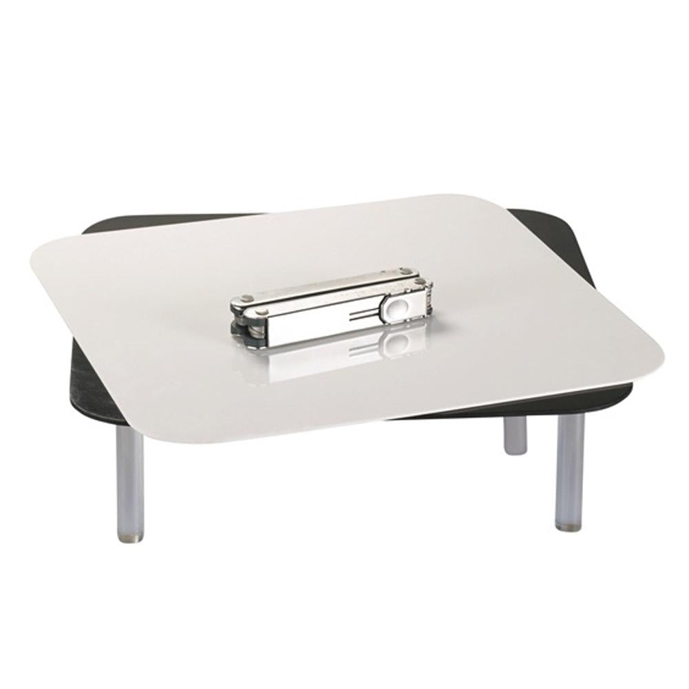 Black & White Reflective Portable Shooting Table - For Jewellery (30cm)