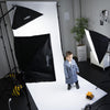 Marshmallow White Paper Roll Photography Studio Backdrop Half Length (1.36 x 10M)