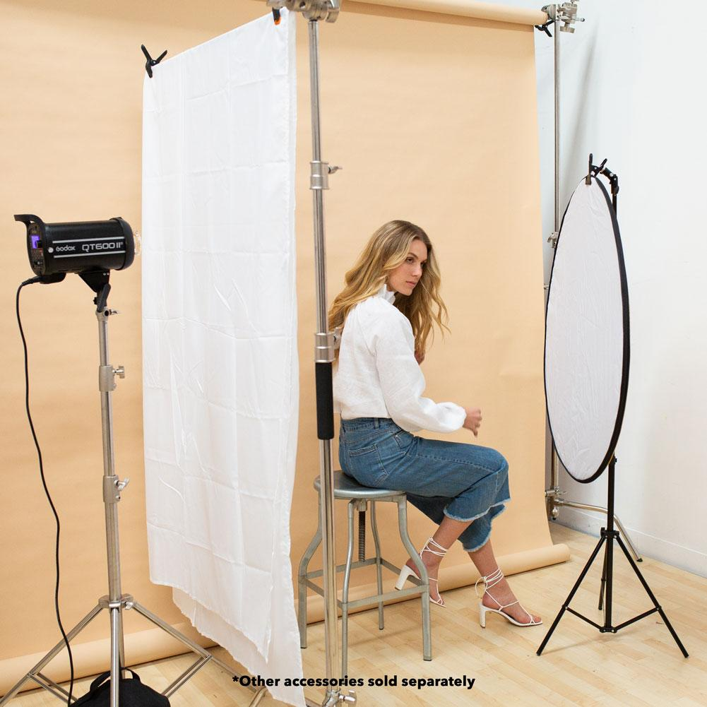 Medium White Photography Light Diffuser Sheet (3.6m x 1.5m)