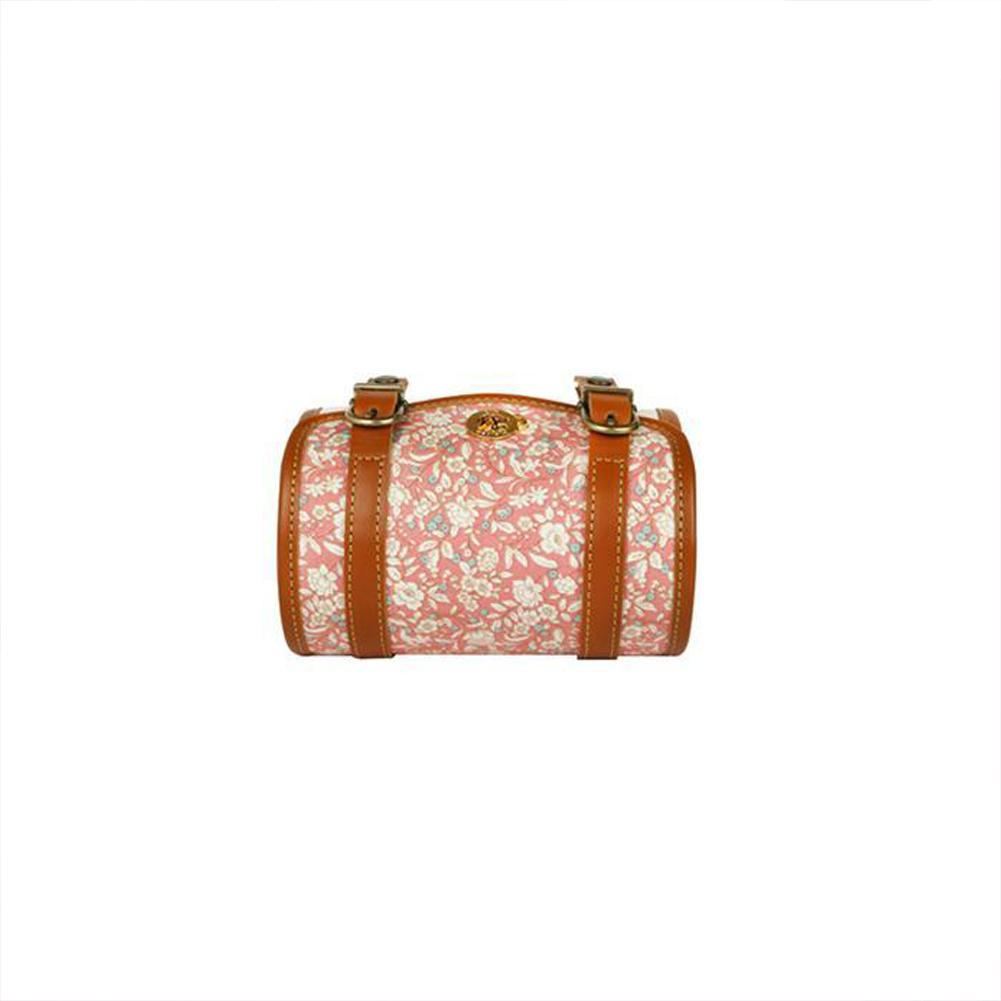 Pink Melten Leather Floral Camera Case and Wrist/ Shoulder Strap - Harper