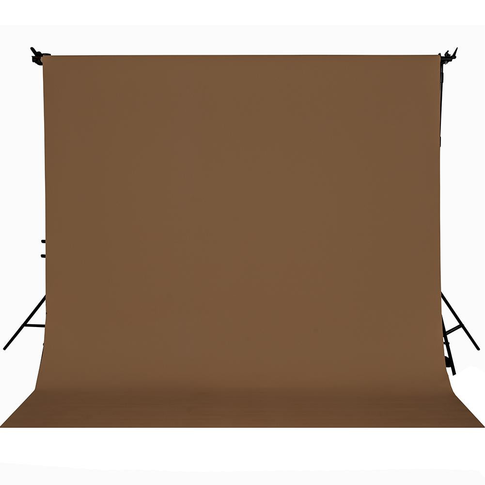 Paper Roll Photography Studio Backdrop Full Length (2.7 x 10M) - Mochaccino Brown