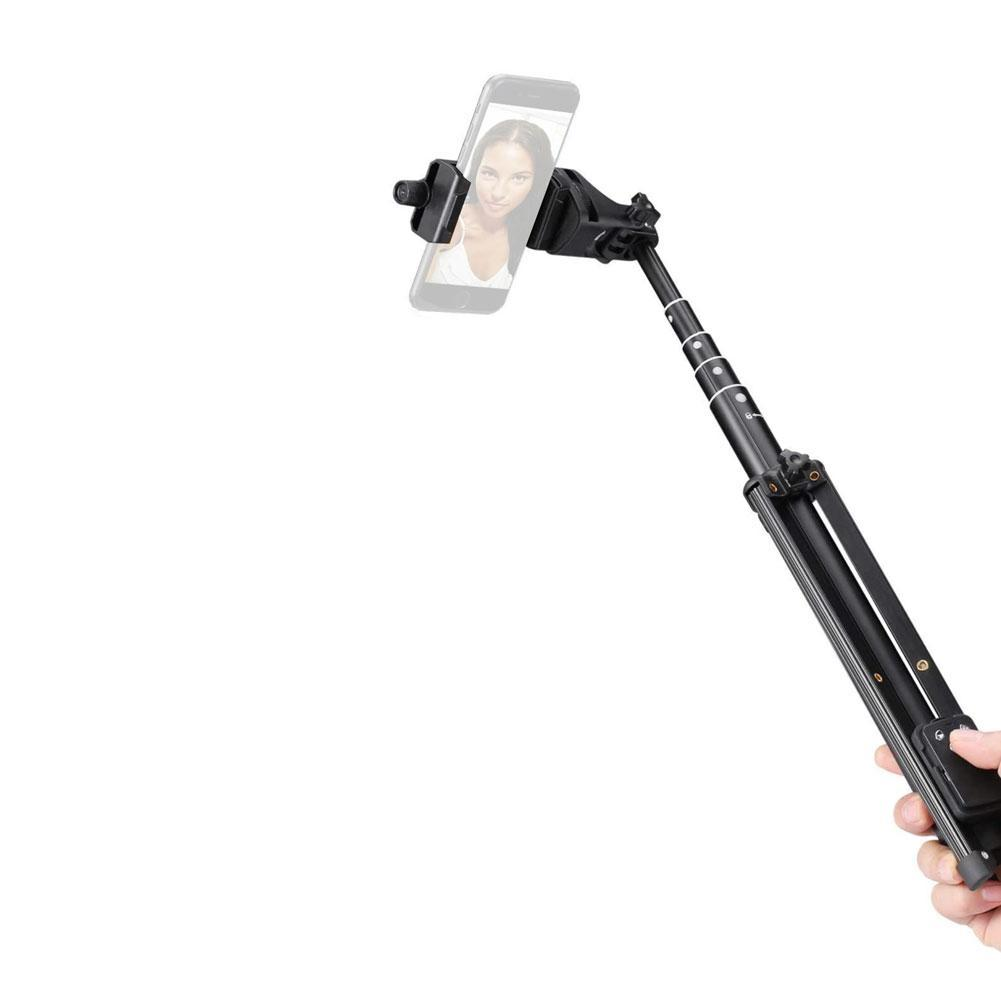 Multifunctional 137cm Selfie Stick Smartphone Tripod with Wireless Shutter Remote