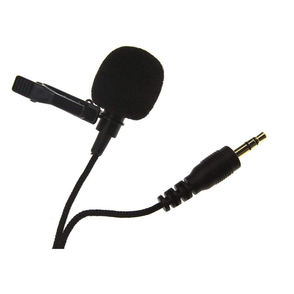 Omnidirectional 3.5mm TRS Lavalier Mini Lapel Microphone