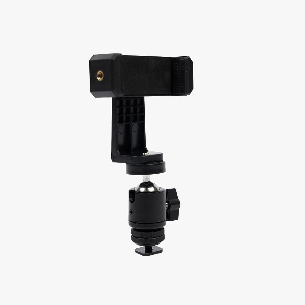 Phone Vlogging Kit with Universal Phone Bracket and Ball Head Mount