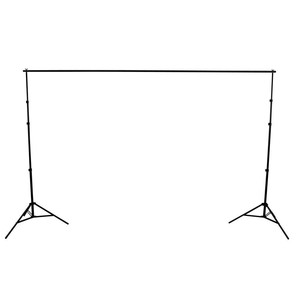 Photography Backdrop Stand 4kg Load 4 Segment Crossbar - 2.5M x 3.0M