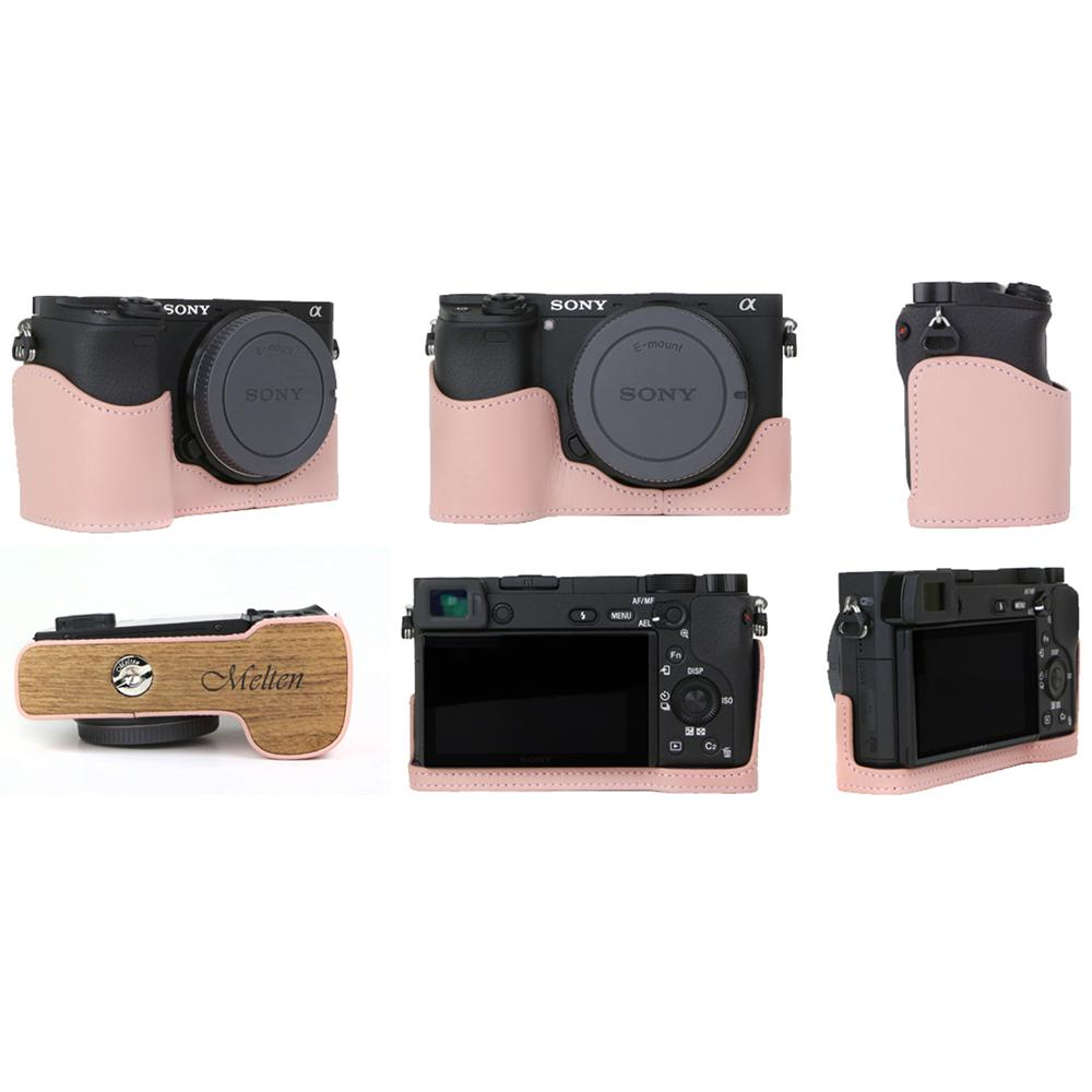 Melten Camera Half Case for Sony A6300 - Pink