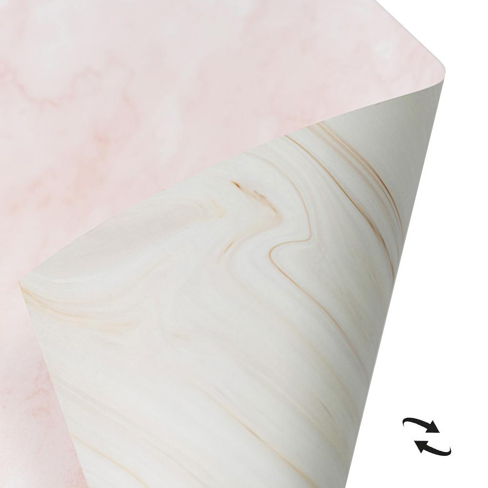 Flat Lay Instagram Backdrop - 'Queensland' Pink Marble (56cm x 87cm)