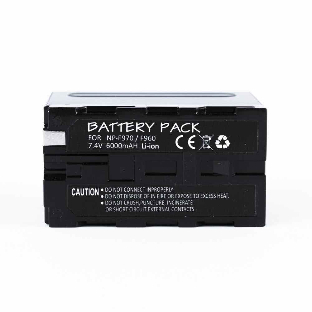 Sony NP-F970 Rechargable 6000mAh Battery Replacement (Generic)