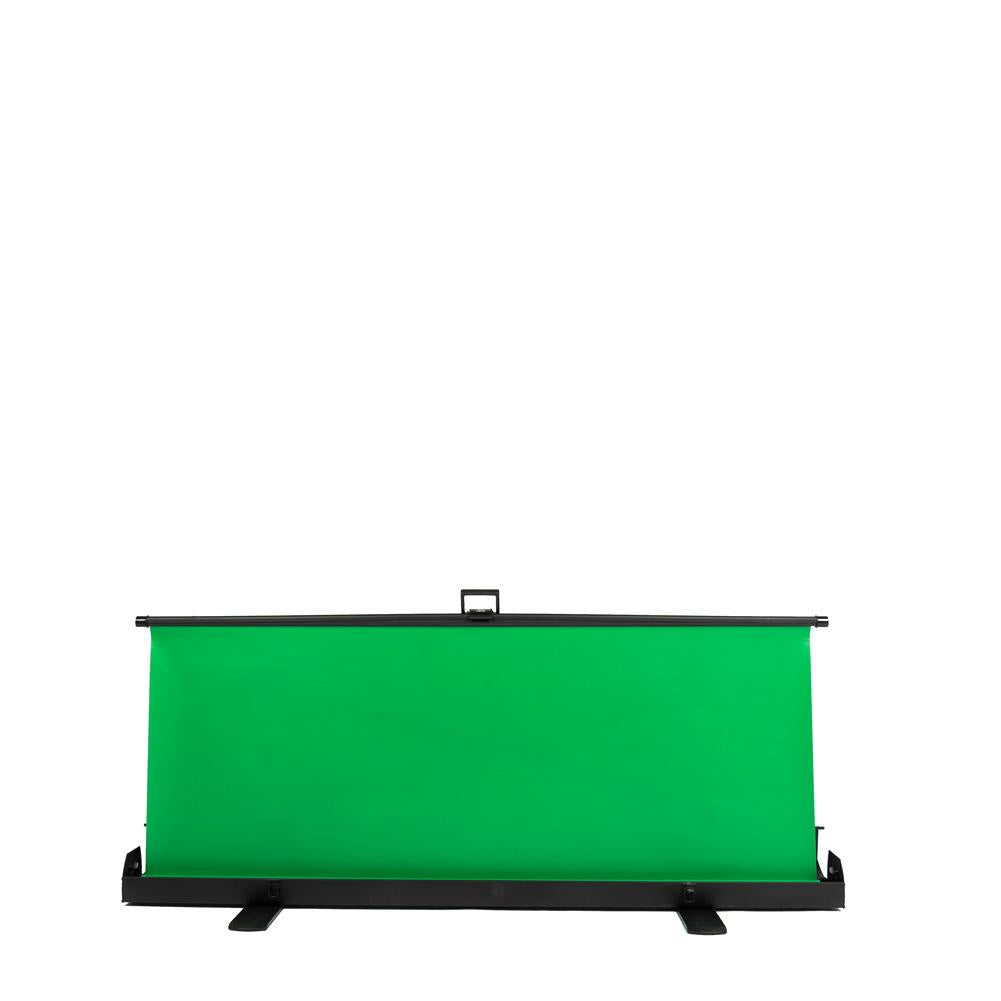 'Live Stream Master' Pull Up Chroma Key Green Screen Backdrop 148cm x 210cm (DEMO STOCK)
