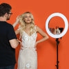 Spectrum Aurora Ring Light Selfie Mirror and Camera Mount (Mirror Only)