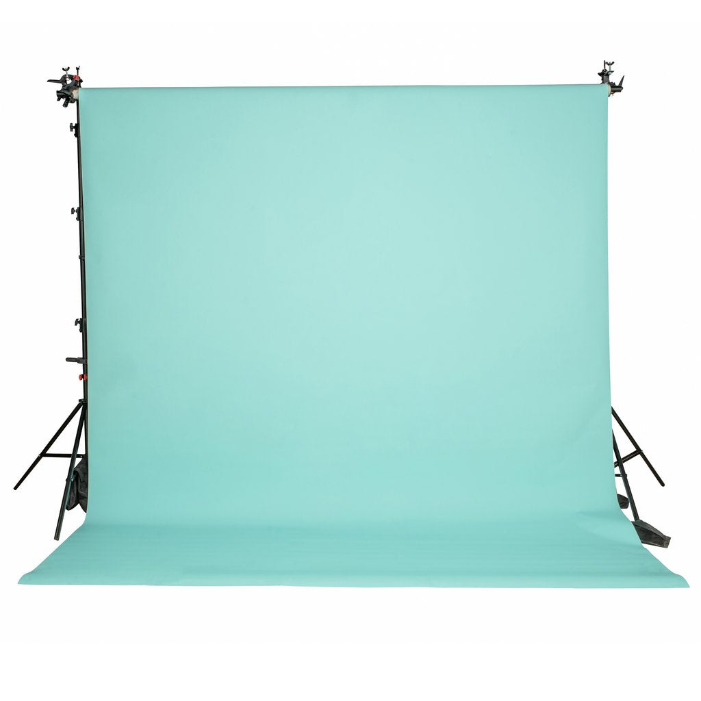 Paper Roll Photography Studio Backdrop Full Length (2.7 x 10M) - Aquamarine Blue