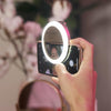 Selfie Phone Ring Light - White Diamond-Luxe Firefly | Bestie Bundle