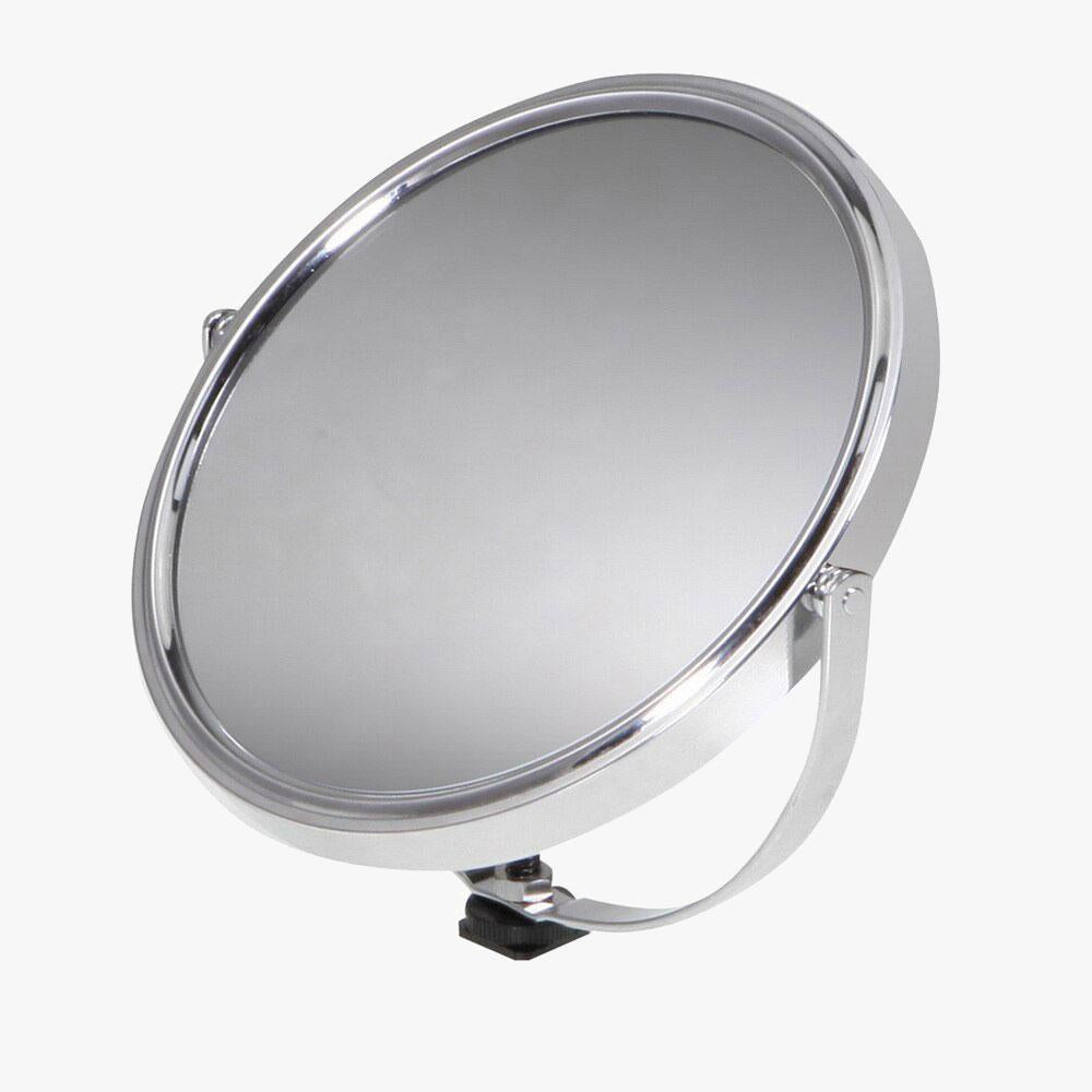 "8"" / 20.5cm Mirror with Hot Shoe Mount for Ring Light"