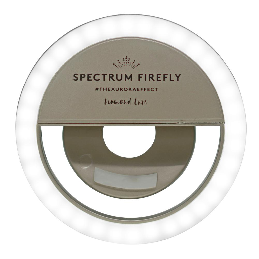 Gold Rush Spectrum Aurora Selfie Phone Ring Light Diamond-Luxe Firefly
