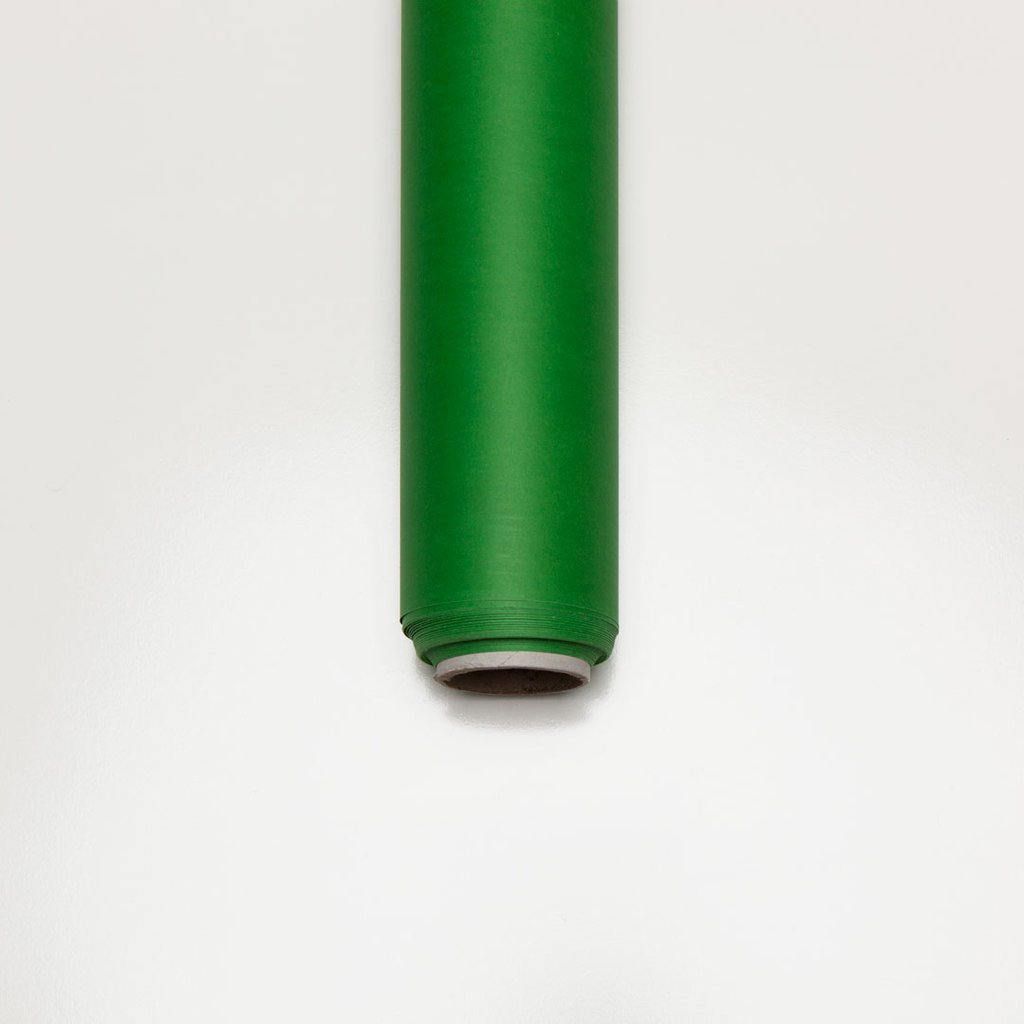 Chroma Key Green Screen Non-Reflective Half Paper Roll Backdrop (1.36 x 10M)