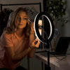 "10"" LED Portable Ring Light - Estella"