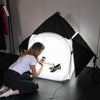 "31"" Product Photography Lighting Studio Tent 'KONTENT KUBE' Kit"