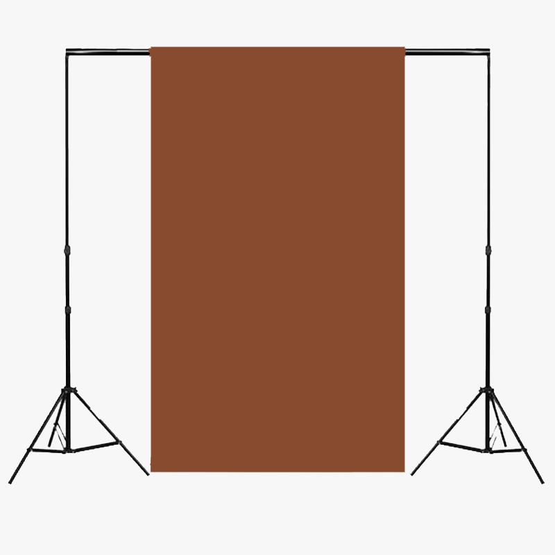 Paper Roll Photography Studio Backdrop Half Length (1.36 x 10M) - Mochaccino Brown