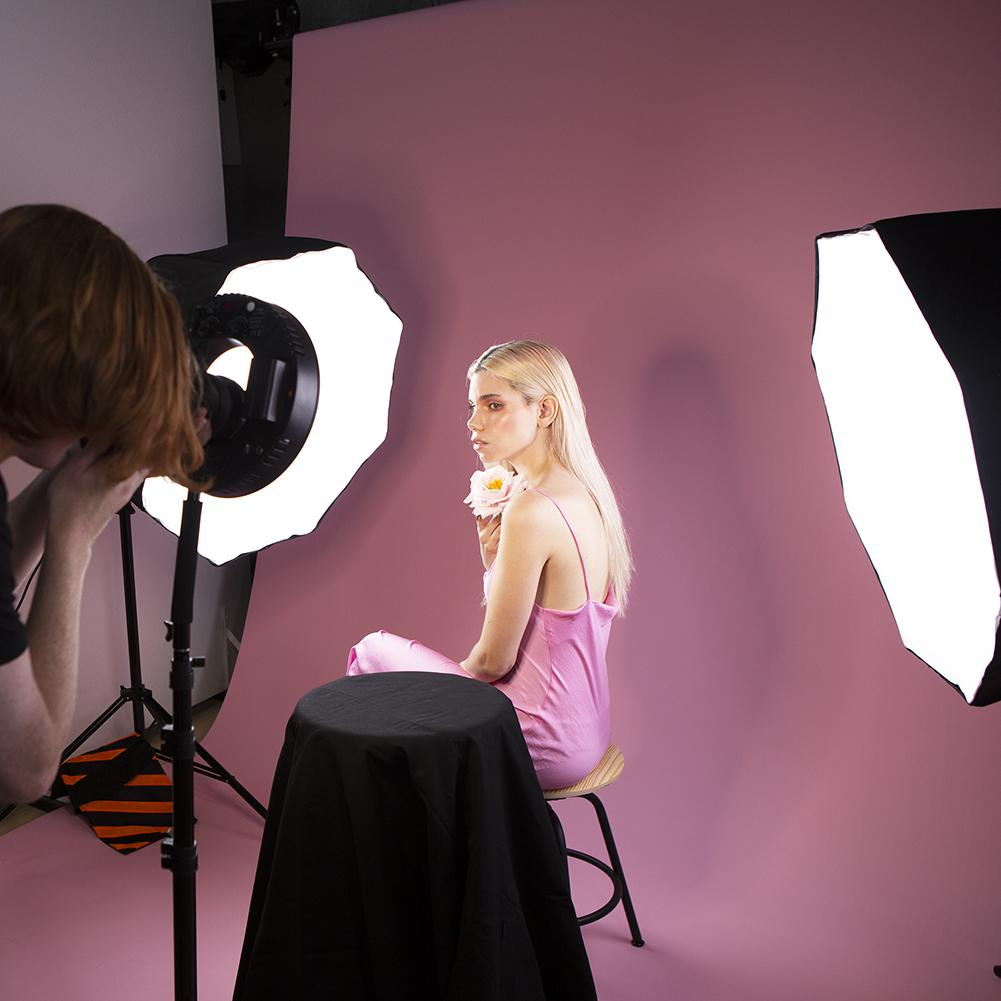 'Fashion and Beauty' Lookbook 3 Point Eclipse Ring Lighting Kit - Spectrum-PRO